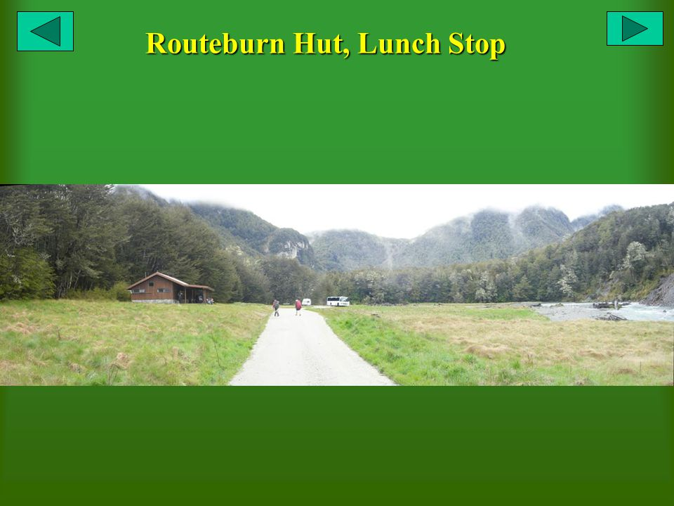 Routeburn Hut, Lunch Stop