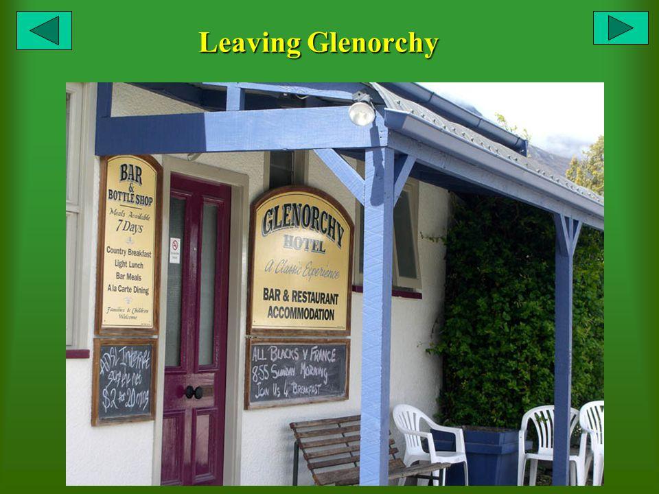 Leaving Glenorchy