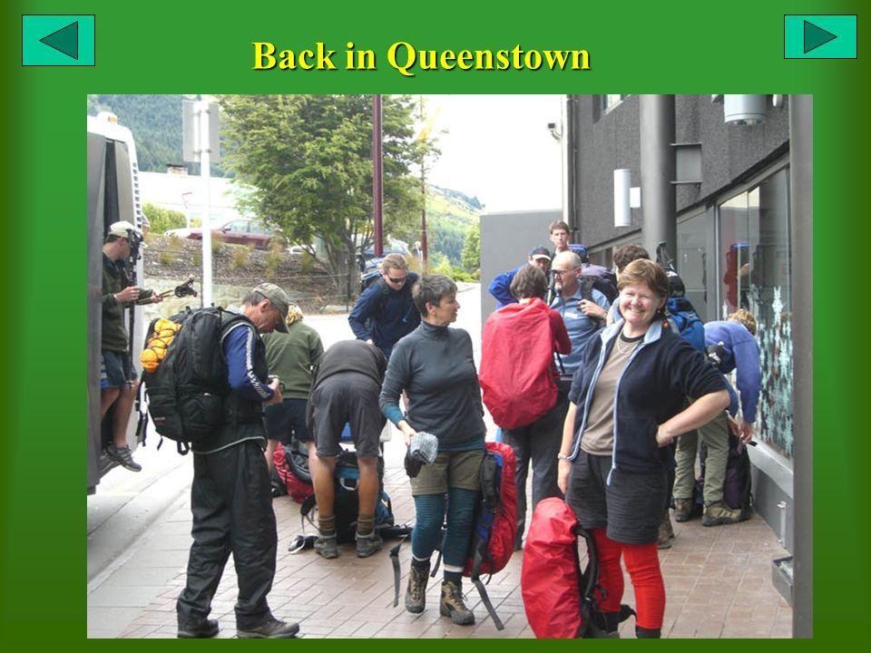 Back in Queenstown