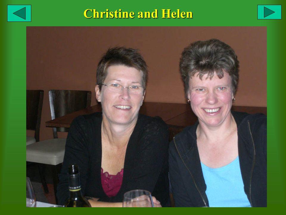 Christine and Helen