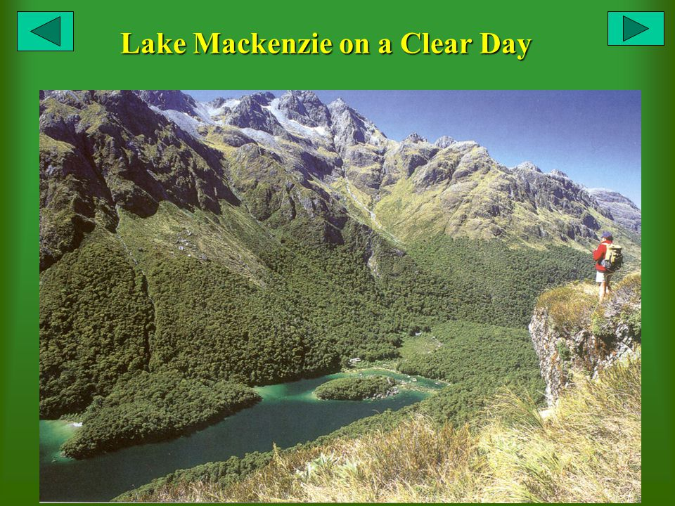 Lake Mackenzie on a Clear Day