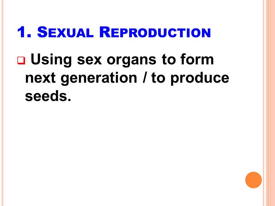 Important steps: 1.Production of gametes (gametogenesis) 2.
