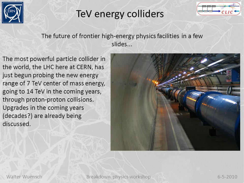 Walter WuenschBreakdown physics workshop6-5-2010 High Power Test begin at 12/03/2009 15:00 TD-18Faya Wang, SLAC