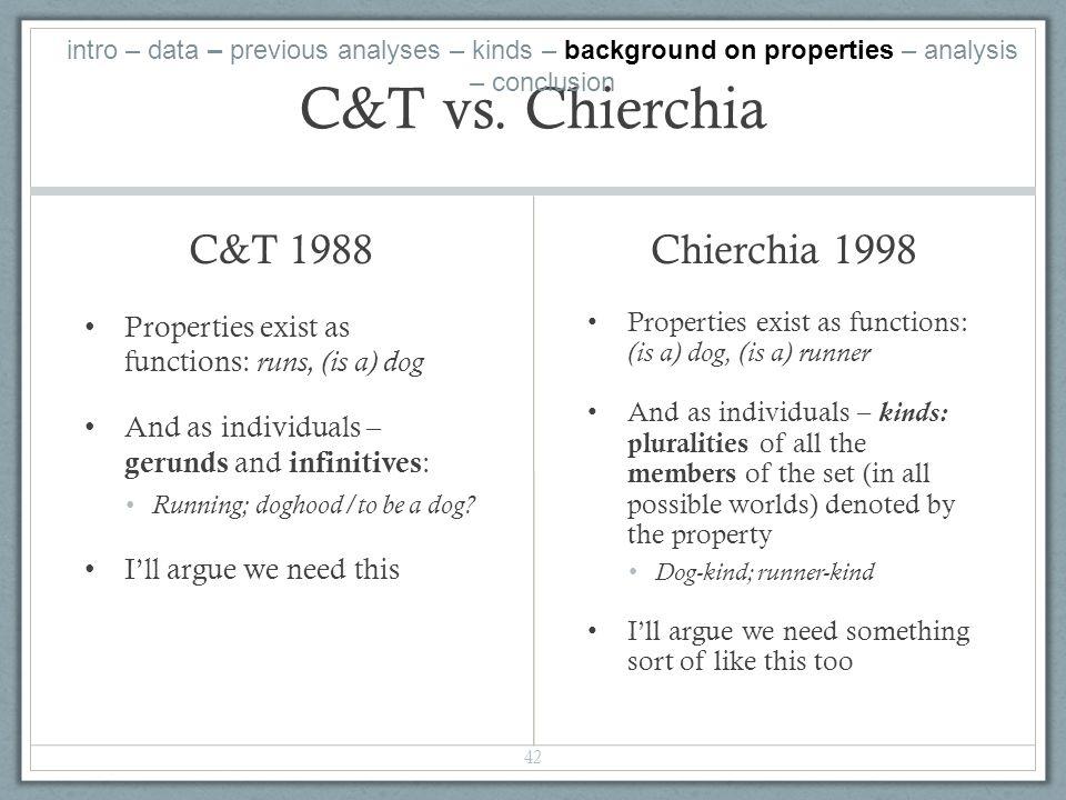 C&T vs.