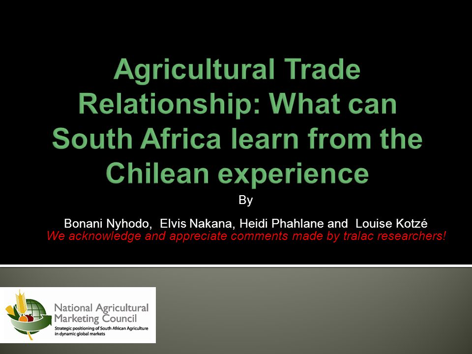 By Bonani Nyhodo, Elvis Nakana, Heidi Phahlane and Louise Kotzé We acknowledge and appreciate comments made by tralac researchers!