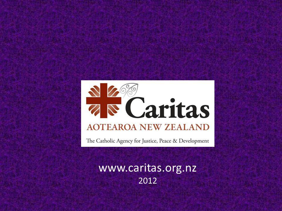 www.caritas.org.nz 2012