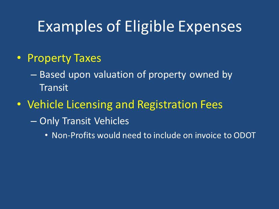 ODOT Invoice Snapshot – Taxes