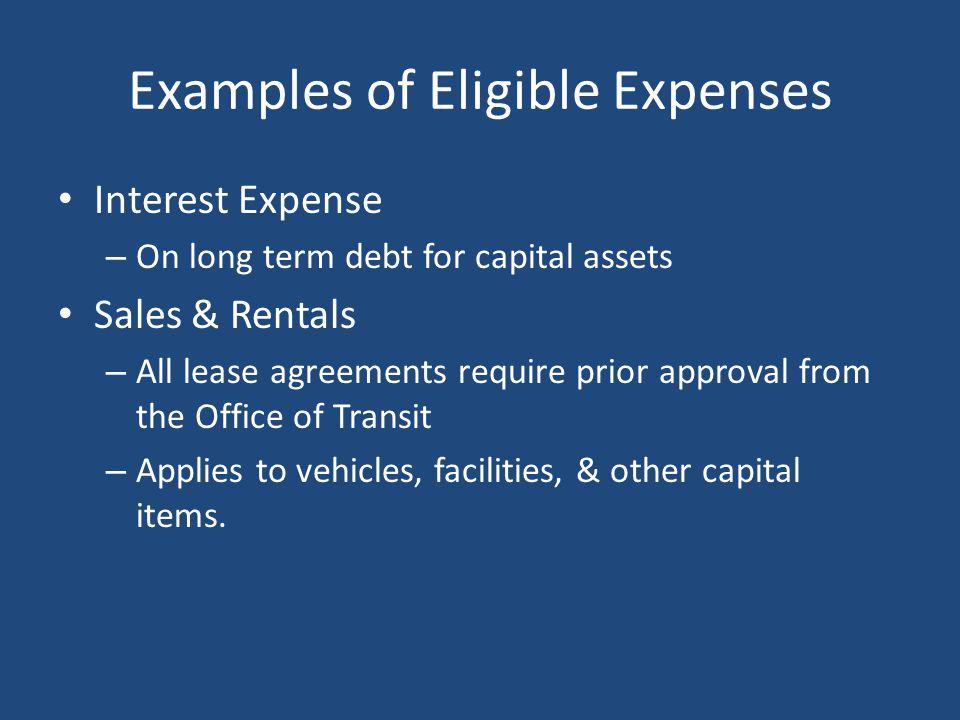ODOT Invoice Snapshot – Interest Expense