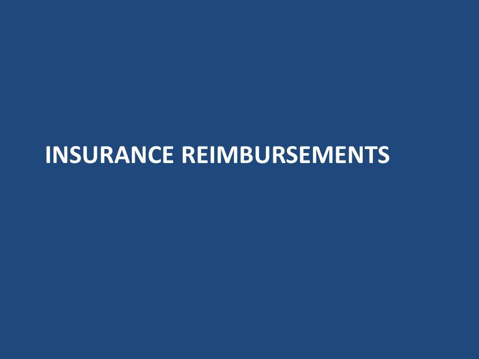 Expense Offset Accident claims – Vendor invoice to repair vehicle – Insurance reimbursement paid to transit for repairs Warranty Reimbursements - Vehi