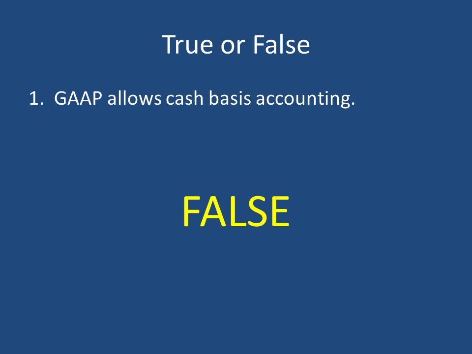 Accrual Accounting - Expenses Expenses incurred during the period, but no cash payment has yet been made: – Utility expenses incurred but not yet paid