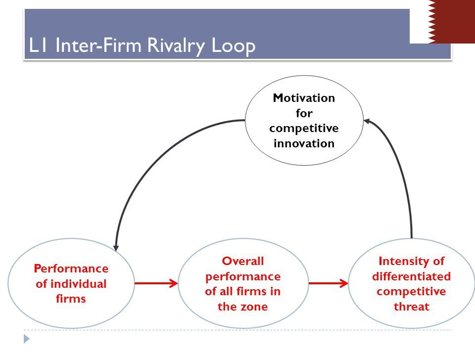 General question: To what extent is the firm motivated to innovate new products, services and/or processes.