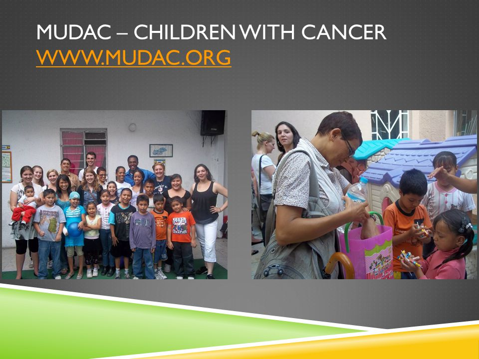 MUDAC – CHILDREN WITH CANCER
