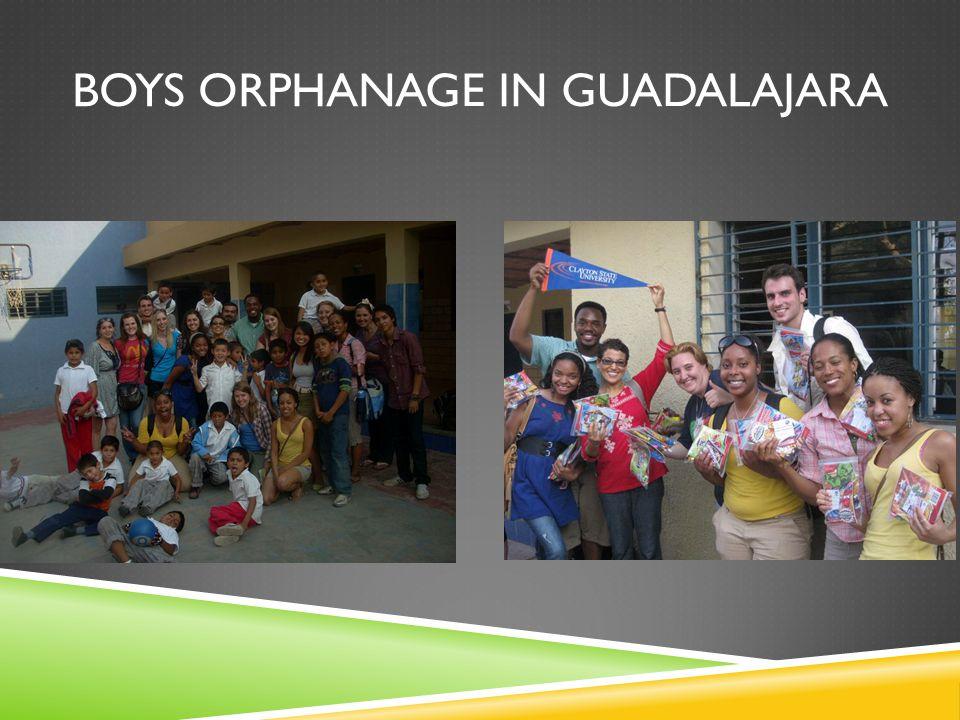 BOYS ORPHANAGE IN GUADALAJARA