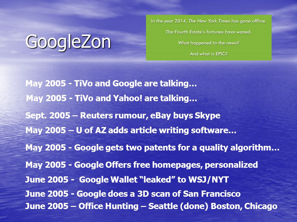 GoogleZon Check out: Check out: