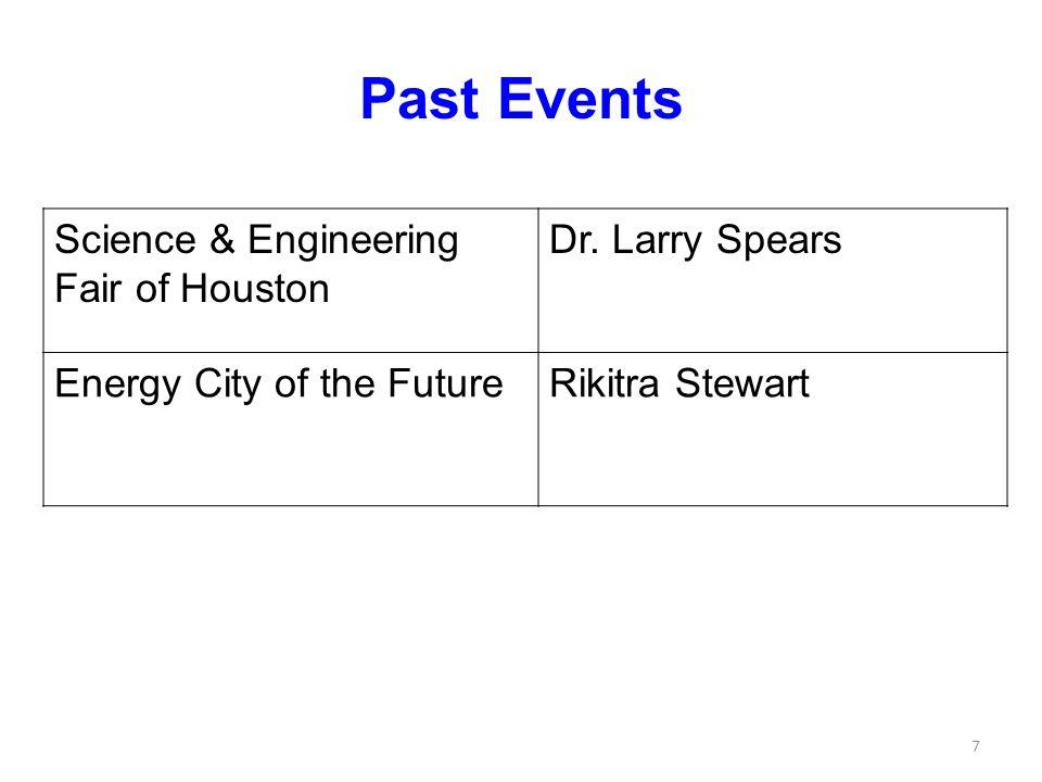 SEFH Dr. Larry Spears University of Houston - Downtown 8