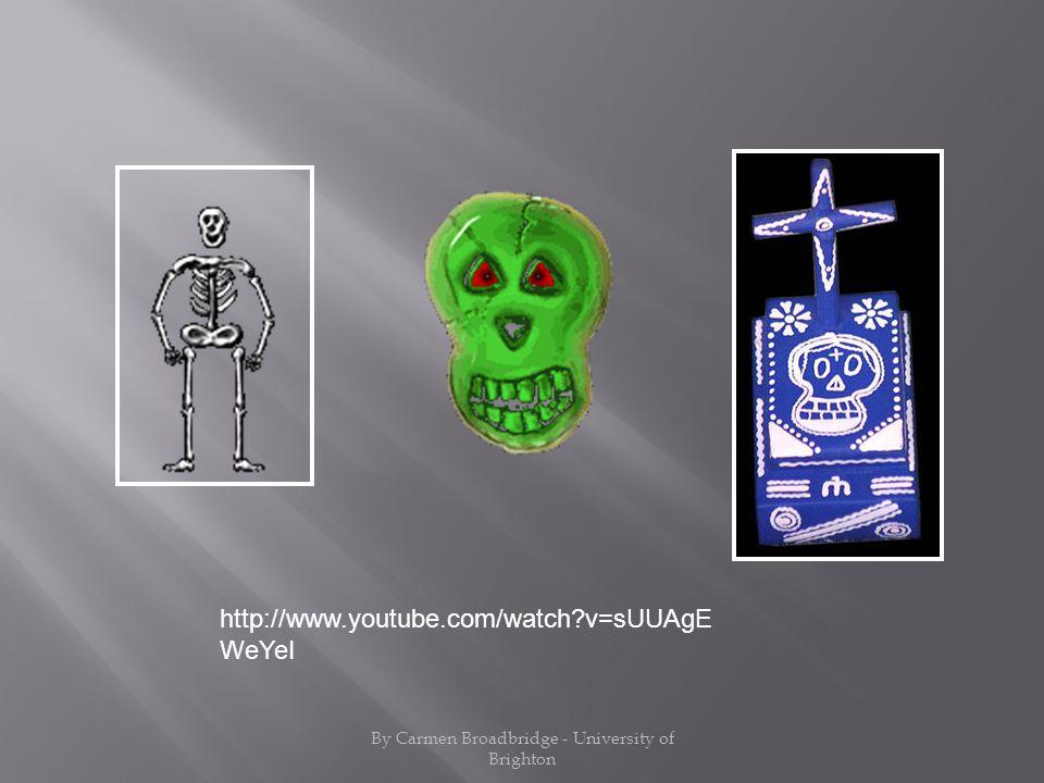 http://www.youtube.com/watch?v=sUUAgE WeYeI By Carmen Broadbridge - University of Brighton
