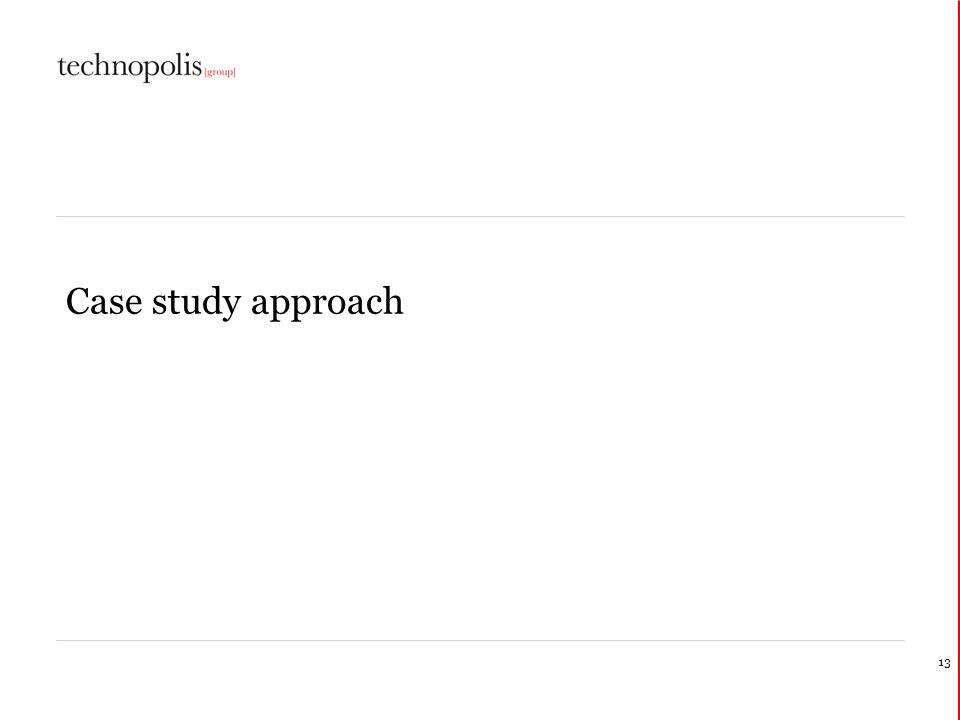 Case study approach 13