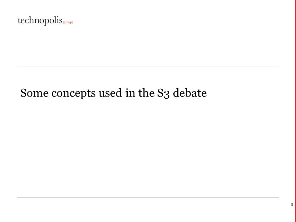 A typology regarding the S3 match Reg.