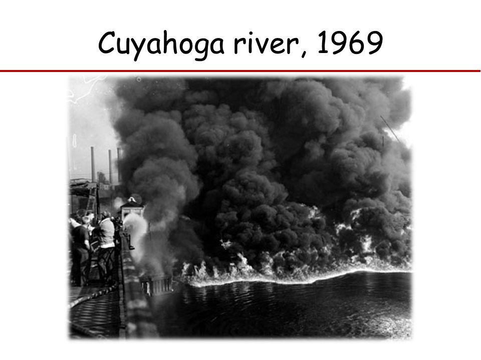 Cuyahoga river, 1969