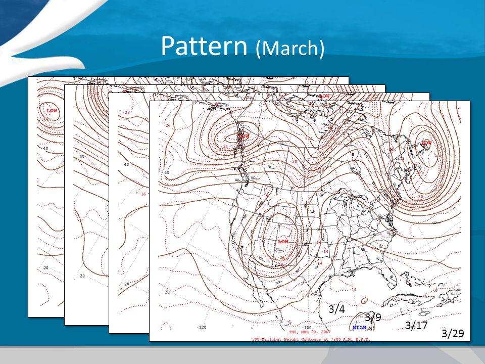 Pattern (March) 3/4 3/9 3/17 3/29