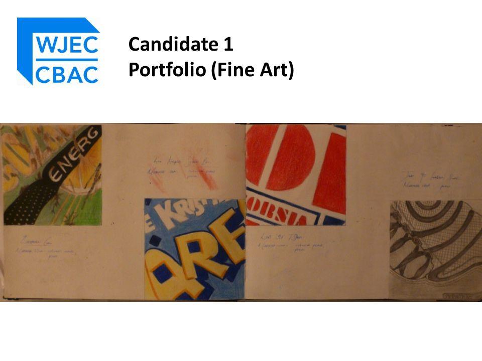 Candidate 3 Portfolio (Fine Art)