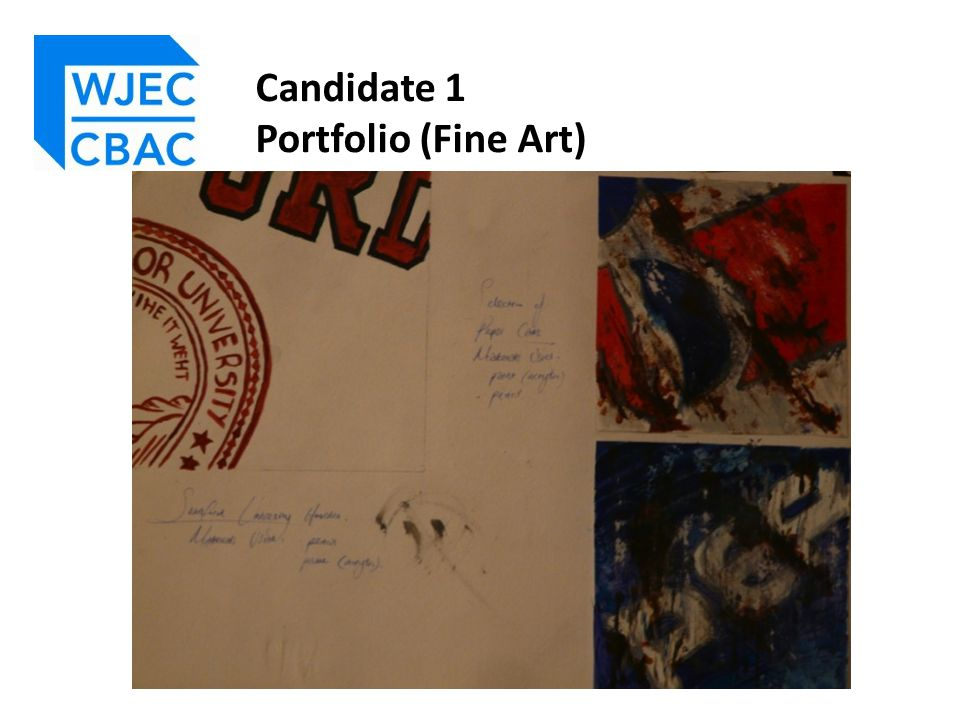 Although submitted as a Fine Art endorsed entry, this Portfolio could also represent an Art & Design Unendorsed submission.