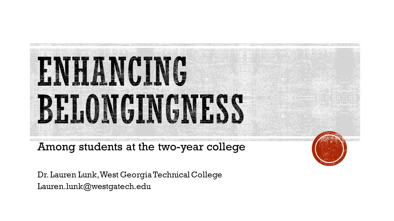 Think about the connections – College provides various ways for students to meet others and engage with the faculty and staff.