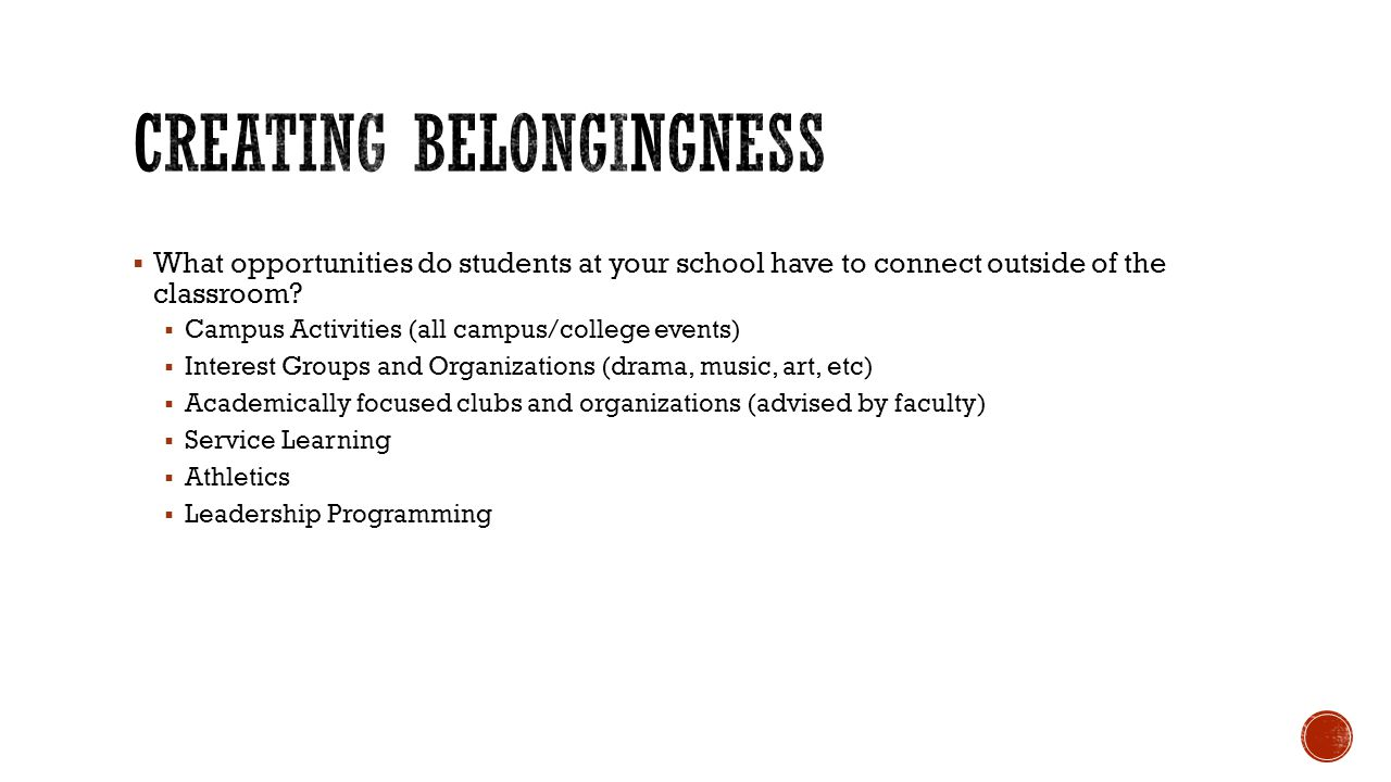 Spirit Events designed to promote college pride (homecoming, welcome events, spring fling, pep rally, etc).