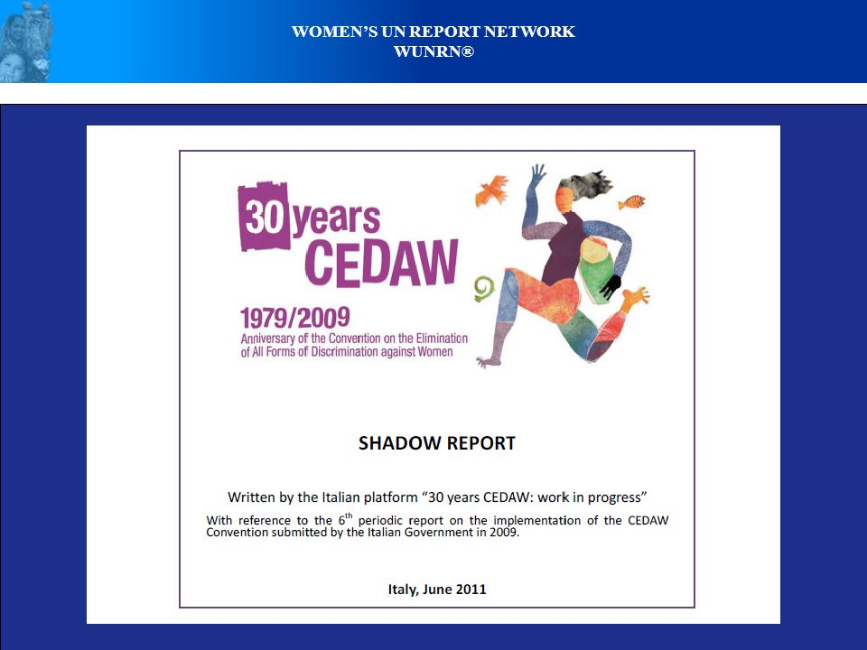 WOMENS UN REPORT NETWORK WUNRN®