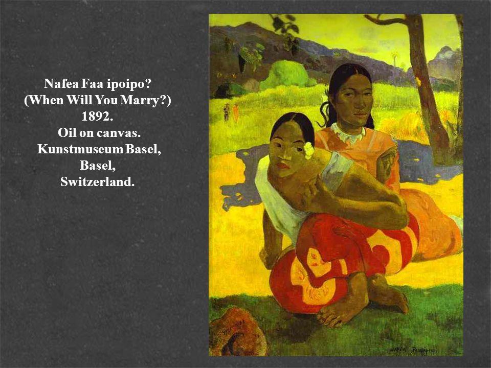 Tahitian Landscape. 1893. Oil on canvas. The Minneapolis Institute of Arts, Minneapolis, MN, USA.