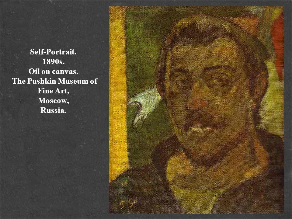 Self-Portrait. c.1893-1894. Oil on canvas. Musée d Orsay, Paris, France.