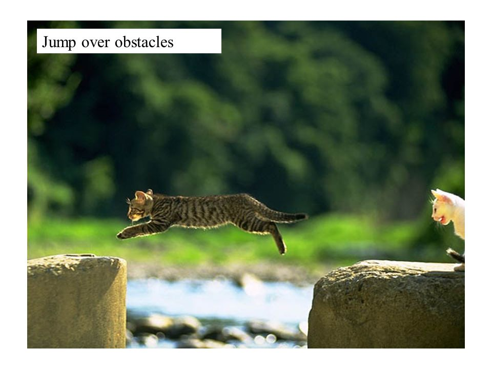 Jump over obstacles