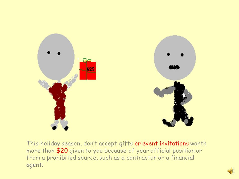 Tis the season to know the gift rules An Ethics Reminder for the Holidays