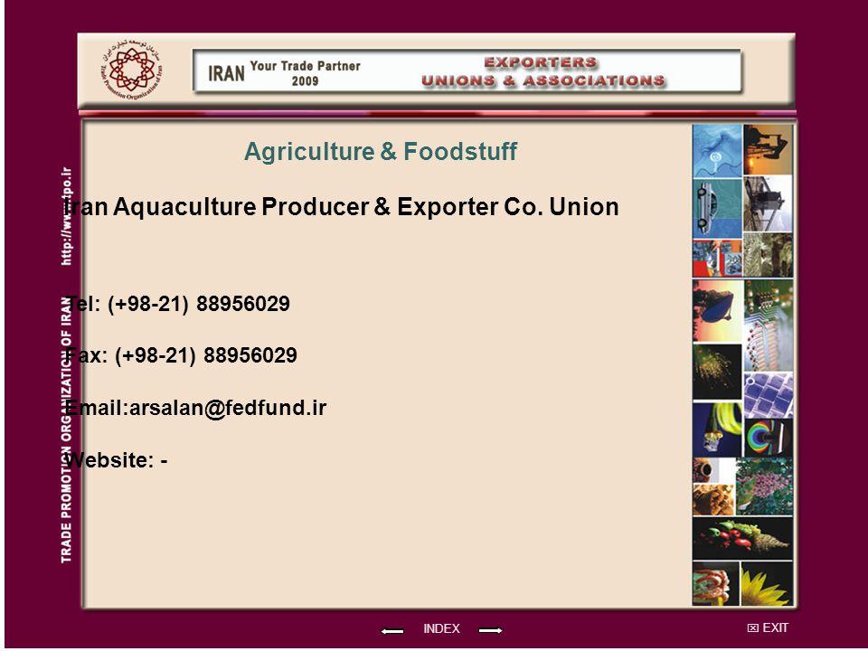 EXIT Iran Aquaculture Producer & Exporter Co.