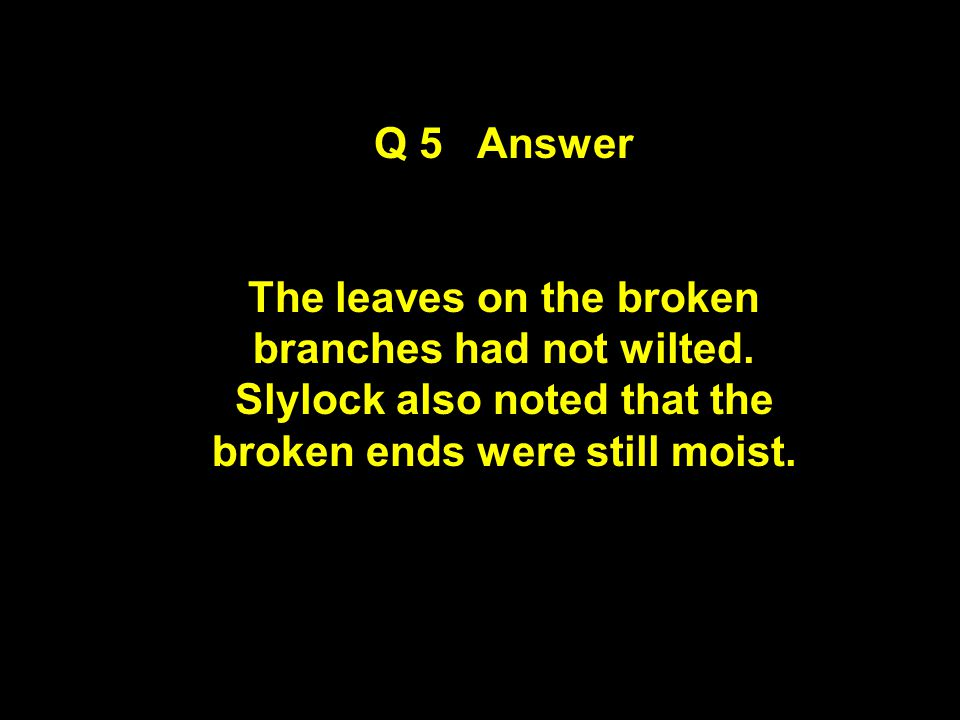 Question 5 Observe and Think Clue