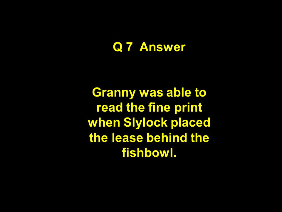 Question 7 Clue Observe and Think