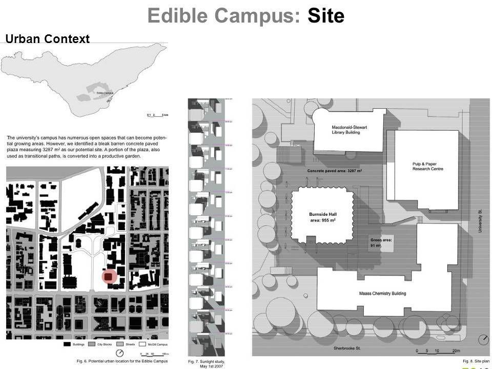 Urban Context Edible Campus: Site