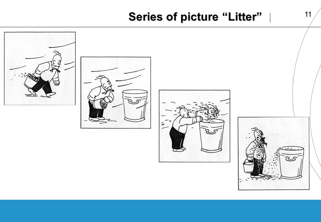 11 Series of picture Litter