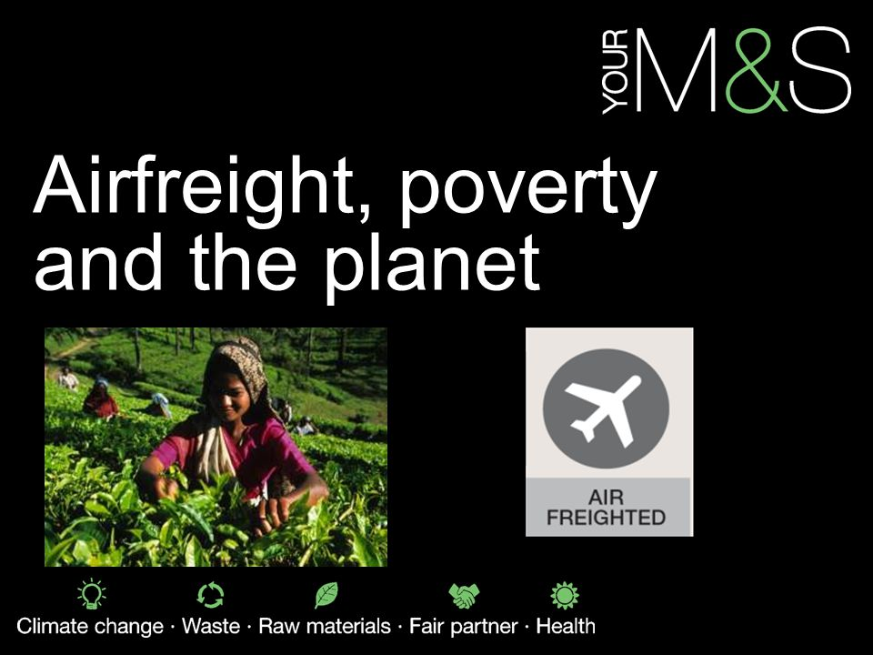 Airfreight, poverty and the planet