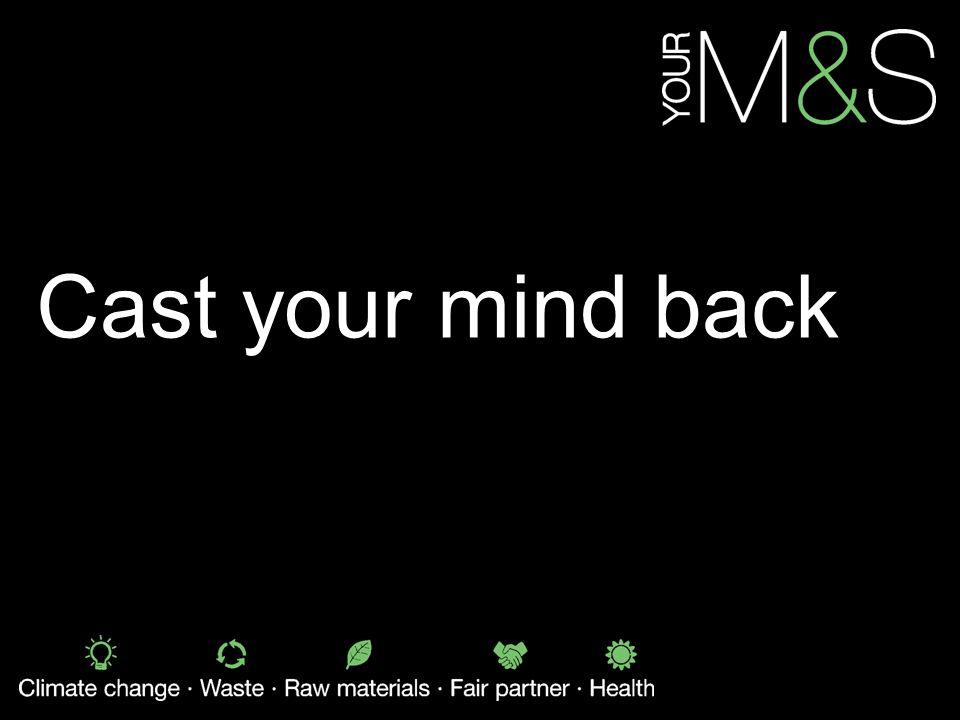 Cast your mind back