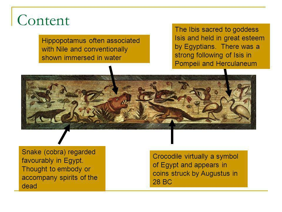 Content Snake (cobra) regarded favourably in Egypt.