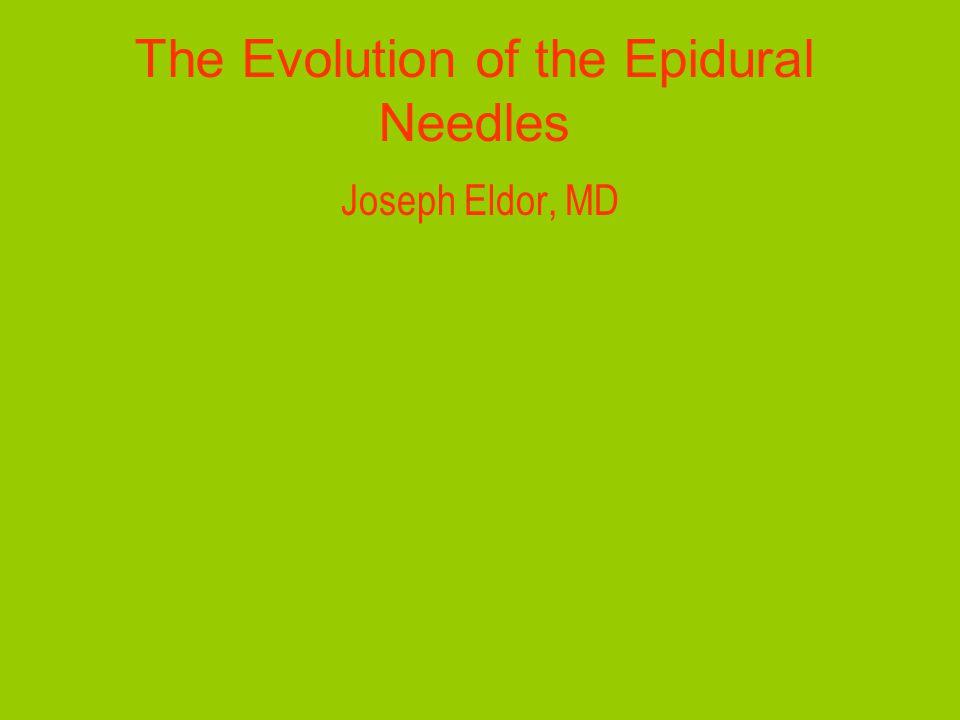 Eldor CSEA needle