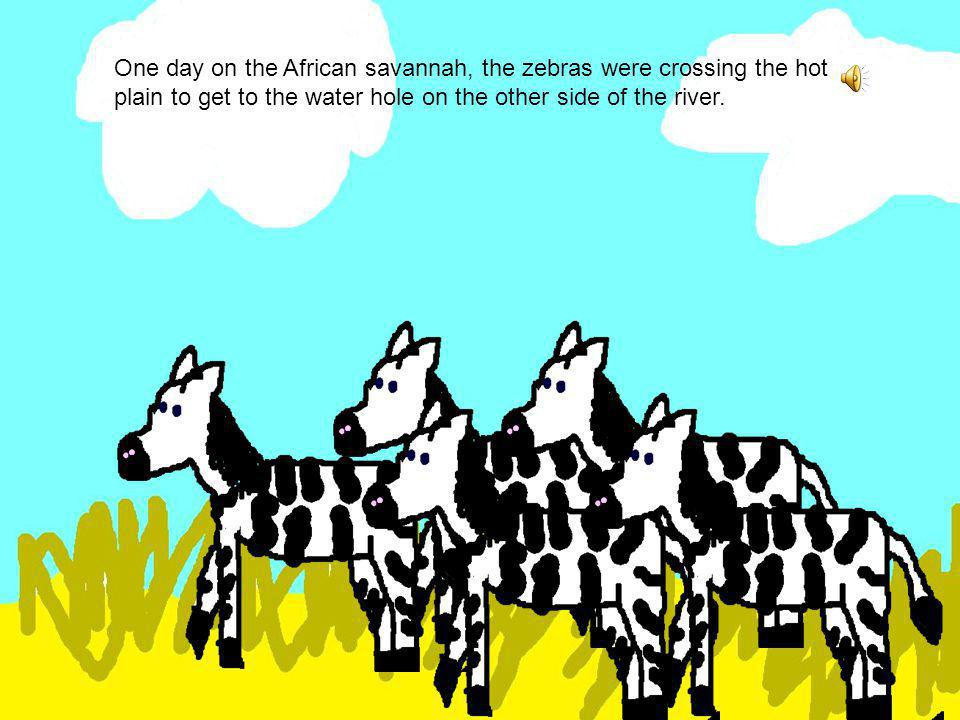The Zebra and the Crocodile By Samantha Burrell PS: click to get to next page