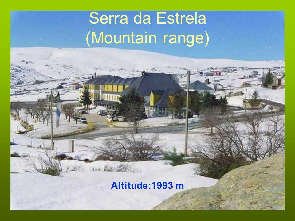 Serra da Estrela (Mountain range) Altitude:1993 m