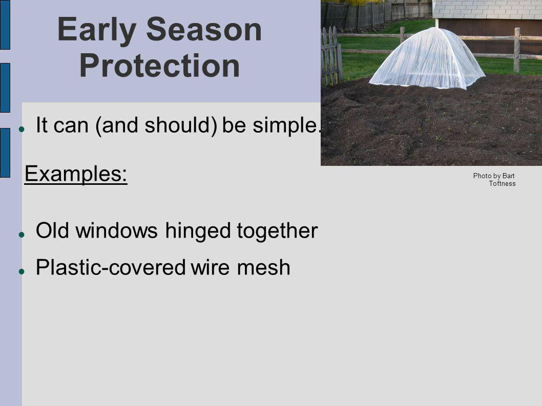 Early Season Protection It can (and should) be simple.