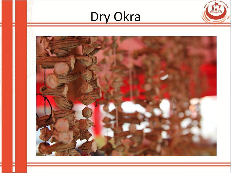 Dry Okra