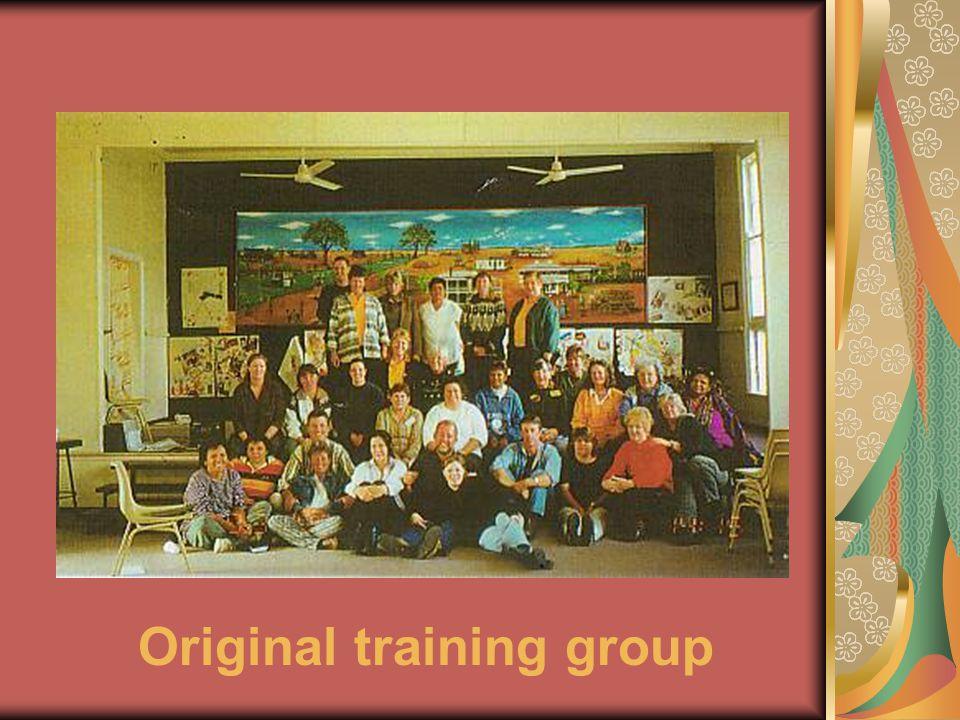 Original training group