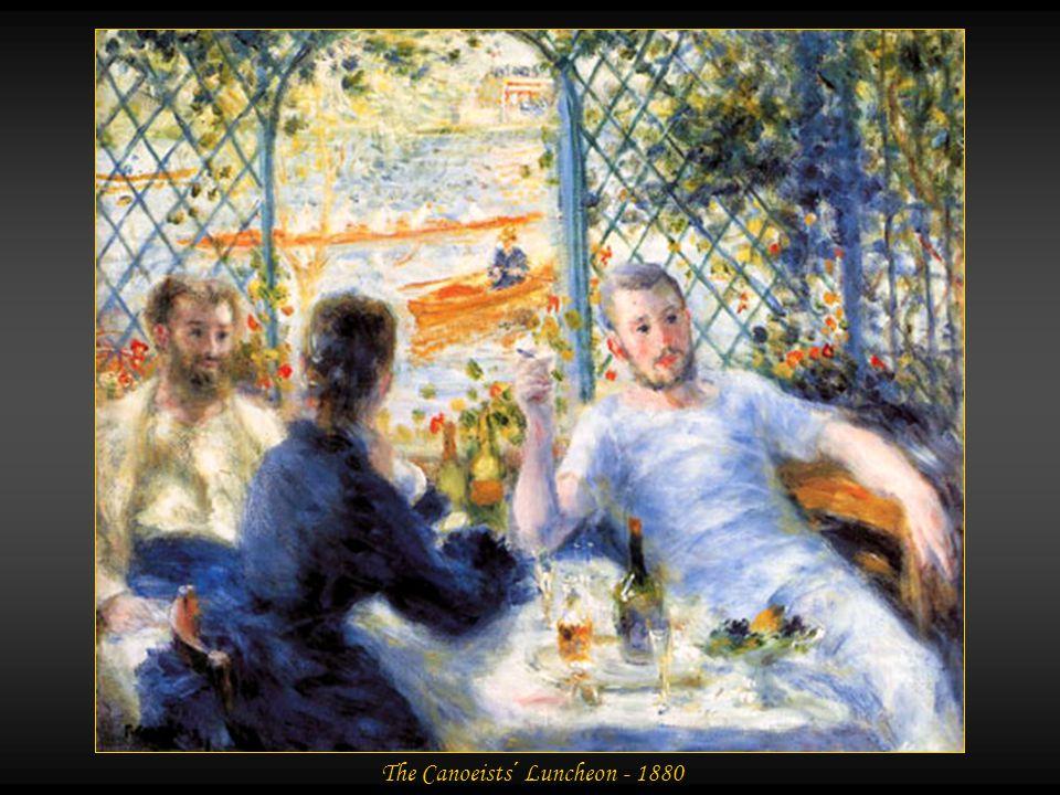 Madame Renoir and Dog - 1880
