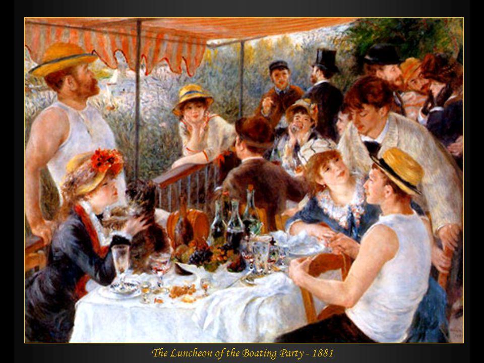 The Canoeists´ Luncheon - 1880