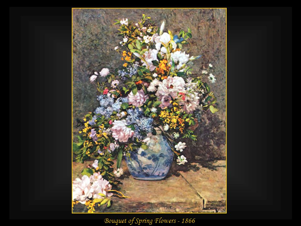 Bouquet of Spring Flowers - 1866